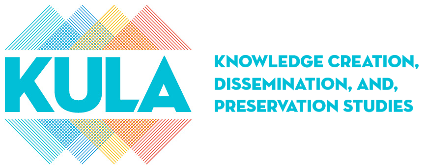 Logo for KULA: Knowledge Creation, Dissemination, and Preservation Studies
